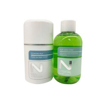 Cleansing Milk 50 ML & Aloe Vera Tonic 100 ML